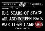 Image of War Loan Campaign Toronto Ontario Canada, 1941, second 6 stock footage video 65675072843