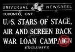 Image of War Loan Campaign Toronto Ontario Canada, 1941, second 7 stock footage video 65675072843