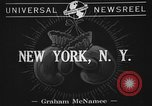 Image of 1941 Golden Glove boxing tournament New York United States USA, 1941, second 5 stock footage video 65675072849