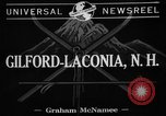 Image of Eastern skiing championship Gilford Laconia New Hampshire USA, 1941, second 2 stock footage video 65675072850