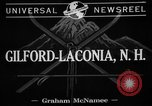Image of Eastern skiing championship Gilford Laconia New Hampshire USA, 1941, second 3 stock footage video 65675072850