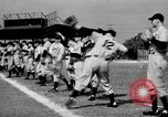 Image of Detroit Tigers baseball team Spring Training Lakeland Florida USA, 1941, second 8 stock footage video 65675072851