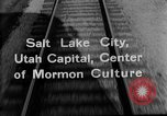Image of Denver and Rio Grande Western train Salt Lake City Utah USA, 1934, second 3 stock footage video 65675072880