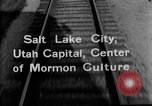 Image of Denver and Rio Grande Western train Salt Lake City Utah USA, 1934, second 4 stock footage video 65675072880