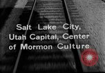 Image of Denver and Rio Grande Western train Salt Lake City Utah USA, 1934, second 7 stock footage video 65675072880