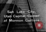 Image of Denver and Rio Grande Western train Salt Lake City Utah USA, 1934, second 8 stock footage video 65675072880