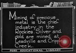 Image of gold panning Leadville Colorado USA, 1922, second 7 stock footage video 65675072890