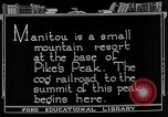 Image of cog railway Pikes Peak Colorado USA, 1922, second 5 stock footage video 65675072892