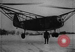Image of Fa 223 helicopter Germany, 1942, second 2 stock footage video 65675072918