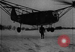 Image of Fa 223 helicopter Germany, 1942, second 3 stock footage video 65675072918
