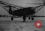 Image of Fa 223 helicopter Germany, 1942, second 7 stock footage video 65675072918