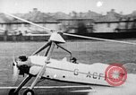 Image of Prototype C.30  G-ACFI Cierva wingless autogiro London England United Kingdom, 1934, second 2 stock footage video 65675072920