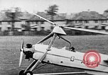 Image of Prototype C.30  G-ACFI Cierva wingless autogiro London England United Kingdom, 1934, second 3 stock footage video 65675072920