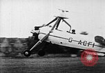 Image of Prototype C.30  G-ACFI Cierva wingless autogiro London England United Kingdom, 1934, second 6 stock footage video 65675072920