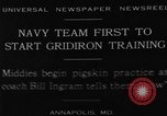 Image of Gridiron training Annapolis Maryland USA, 1929, second 1 stock footage video 65675072930