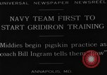 Image of Gridiron training Annapolis Maryland USA, 1929, second 2 stock footage video 65675072930