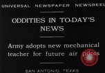 Image of Pilot training San Antonio Texas USA, 1929, second 1 stock footage video 65675072931