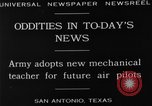 Image of Pilot training San Antonio Texas USA, 1929, second 6 stock footage video 65675072931