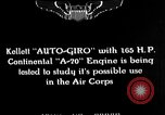 Image of Kellett autogyro United States USA, 1928, second 9 stock footage video 65675072946