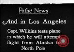 Image of aircraft testing Los Angeles California USA, 1928, second 1 stock footage video 65675072947