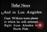 Image of aircraft testing Los Angeles California USA, 1928, second 2 stock footage video 65675072947