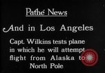 Image of aircraft testing Los Angeles California USA, 1928, second 3 stock footage video 65675072947