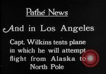 Image of aircraft testing Los Angeles California USA, 1928, second 6 stock footage video 65675072947