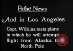 Image of aircraft testing Los Angeles California USA, 1928, second 8 stock footage video 65675072947