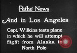 Image of aircraft testing Los Angeles California USA, 1928, second 10 stock footage video 65675072947