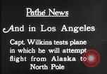 Image of aircraft testing Los Angeles California USA, 1928, second 11 stock footage video 65675072947