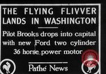 Image of aircraft landing Washington DC USA, 1928, second 1 stock footage video 65675072948