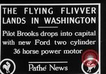 Image of aircraft landing Washington DC USA, 1928, second 3 stock footage video 65675072948