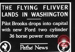 Image of aircraft landing Washington DC USA, 1928, second 8 stock footage video 65675072948
