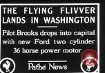 Image of aircraft landing Washington DC USA, 1928, second 11 stock footage video 65675072948