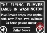 Image of aircraft landing Washington DC USA, 1928, second 12 stock footage video 65675072948