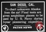 Image of amphibian aircraft San Diego California USA, 1928, second 11 stock footage video 65675072949
