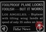 Image of biplane Los Angeles California USA, 1928, second 4 stock footage video 65675072951
