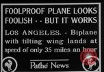 Image of biplane Los Angeles California USA, 1928, second 8 stock footage video 65675072951