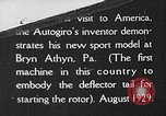Image of autogyro Bryn Athyn Pennsylvania USA, 1929, second 1 stock footage video 65675072958