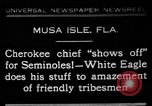 Image of Cherokee Chief Musa Isle Florida USA, 1931, second 1 stock footage video 65675072970