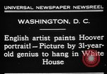 Image of artist paints Washington DC USA, 1931, second 7 stock footage video 65675072971