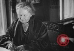 Image of Maria Montessori Berlin Germany, 1931, second 11 stock footage video 65675072972