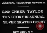 Image of Silver Skates Derby Manhattan New York City USA, 1931, second 4 stock footage video 65675072974