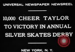 Image of Silver Skates Derby Manhattan New York City USA, 1931, second 8 stock footage video 65675072974