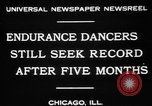 Image of Endurance dancing contest Chicago Illinois USA, 1931, second 7 stock footage video 65675072975