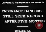 Image of Endurance dancing contest Chicago Illinois USA, 1931, second 8 stock footage video 65675072975