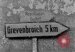Image of 4th Cavalry Regiment M10 Tank destroyer enters town Grevenbroich Germany, 1945, second 2 stock footage video 65675072985