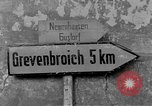 Image of 4th Cavalry Regiment M10 Tank destroyer enters town Grevenbroich Germany, 1945, second 3 stock footage video 65675072985
