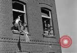 Image of 4th Cavalry Regiment M10 Tank destroyer enters town Grevenbroich Germany, 1945, second 10 stock footage video 65675072985
