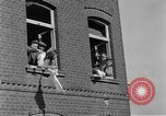 Image of 4th Cavalry Regiment M10 Tank destroyer enters town Grevenbroich Germany, 1945, second 11 stock footage video 65675072985
